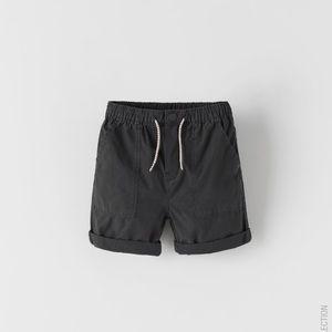 Zara's Basic Poplin Shorts!